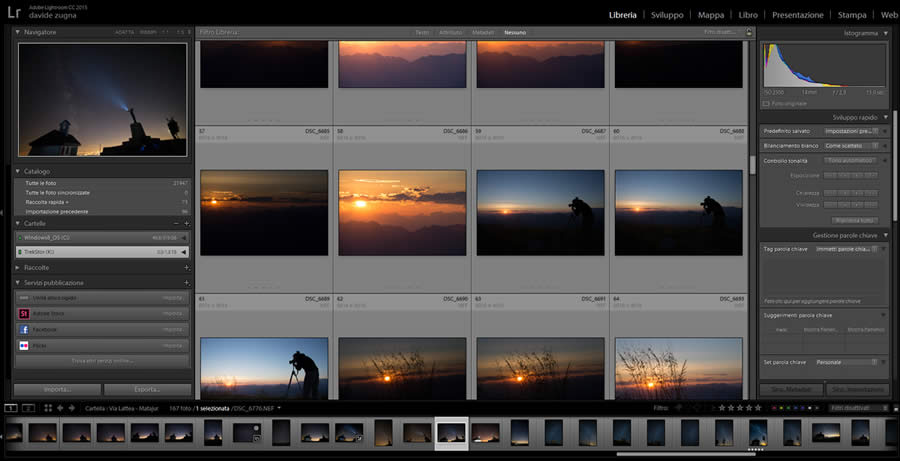 Adobe Lightroom a Trieste
